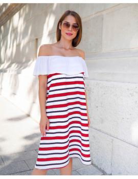 Sofia Dress - Red