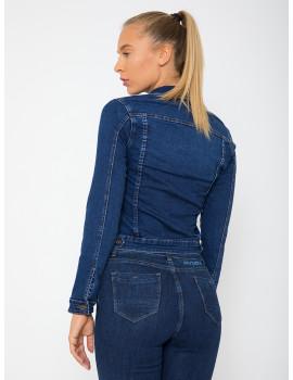 Sienna Embroidered Denim Jacket