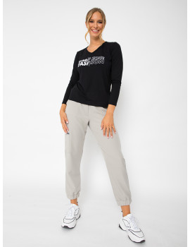 Sporty Trousers - Sand