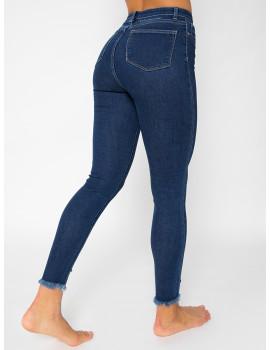 Kiara Embroidered Skinny Jeans
