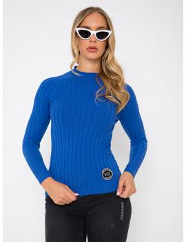 Ribbed Light Knit - Royal Blue