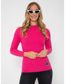 Ribbed Light Knit - Pink