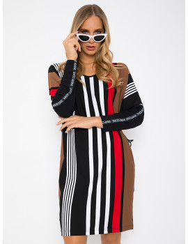 Striped Tunic - Red