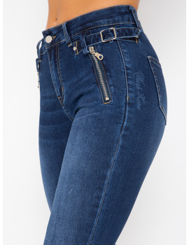 Ginnie Embroidered Skinny Jeans