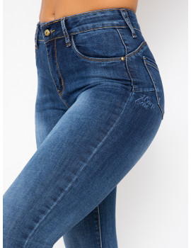 Letty Embroidered Skinny Jeans