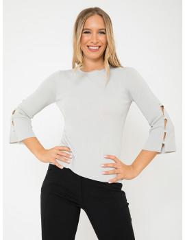 Knit Top - Grey
