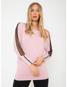Gloria Loose Top - Powder Pink