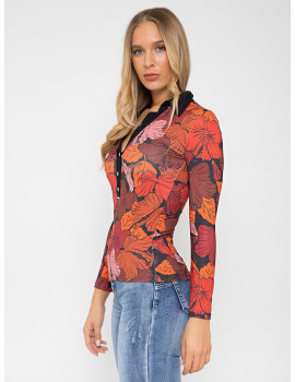 Button Top - Red