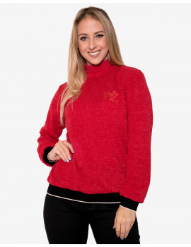 Ines Knit Top - Red