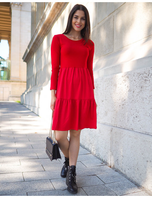 Debora Dress - Red