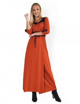 Jessi Dress - Terracotta